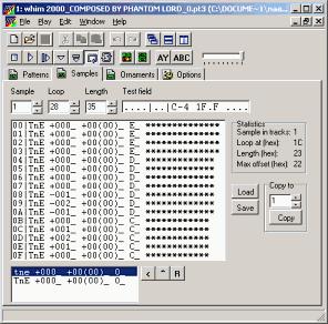 Vortex Tracker II 1 0 beta 17 by S V  Bulba : Музыка для ZX